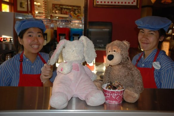Bunny and Bear Ice Cream