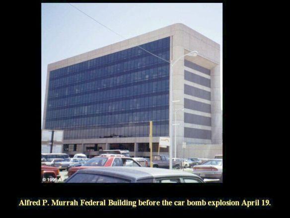 Murrah building before